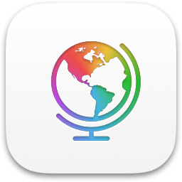 Modern Atlas iPhone app icon